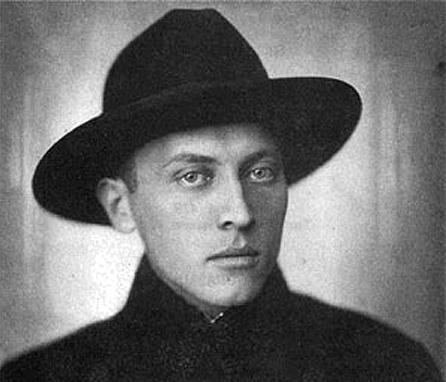 Milan Begović u mlađim danima